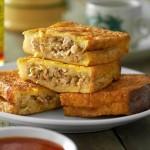 Lingham's Spicy Penang Baba Sandwich (Roti Baba)
